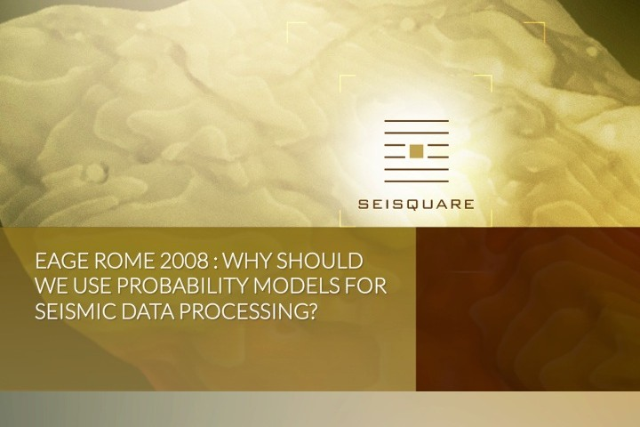 Eage Rome 2008 : Why Should We Use Probability Models For Seismic Data Processing?