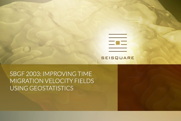 Sbgf 2003: Improving Time Migration Velocity Fields Using Geostatistics