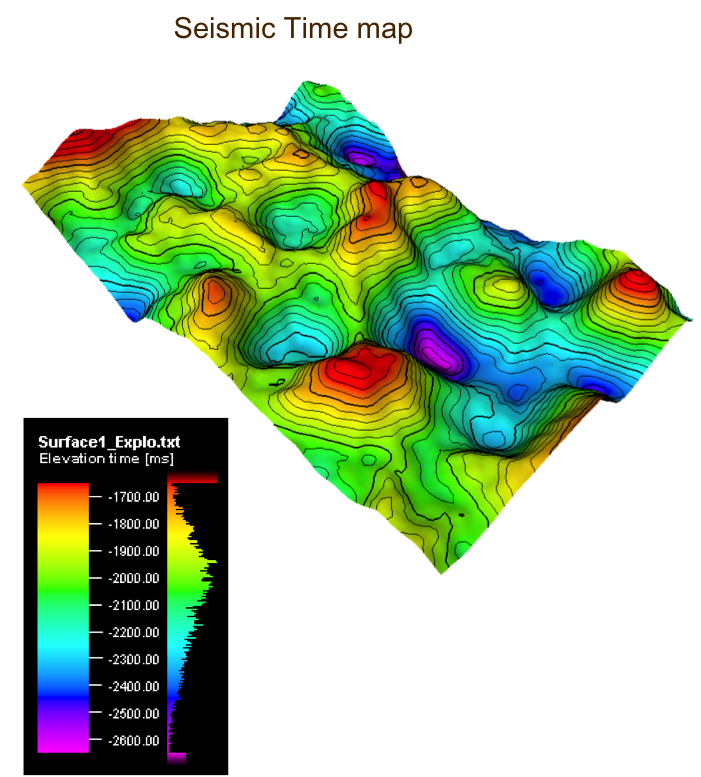 Seismic Time Map