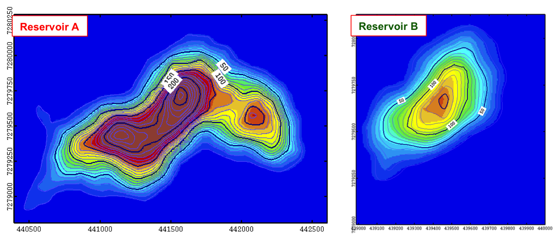 Output Number 4: Reservoir A & B